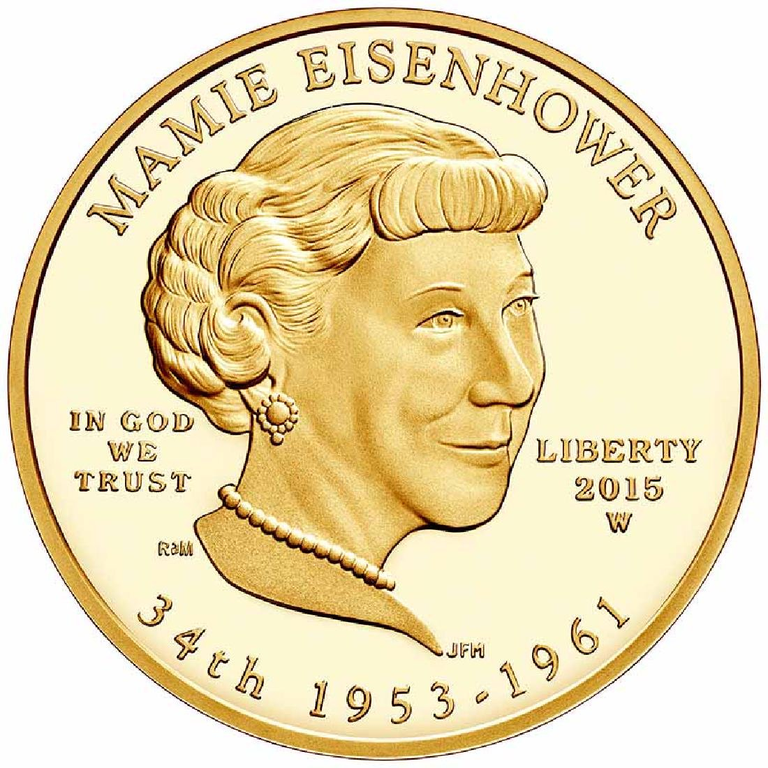 First Spouse 2015 Mamie Eisenhower Proof