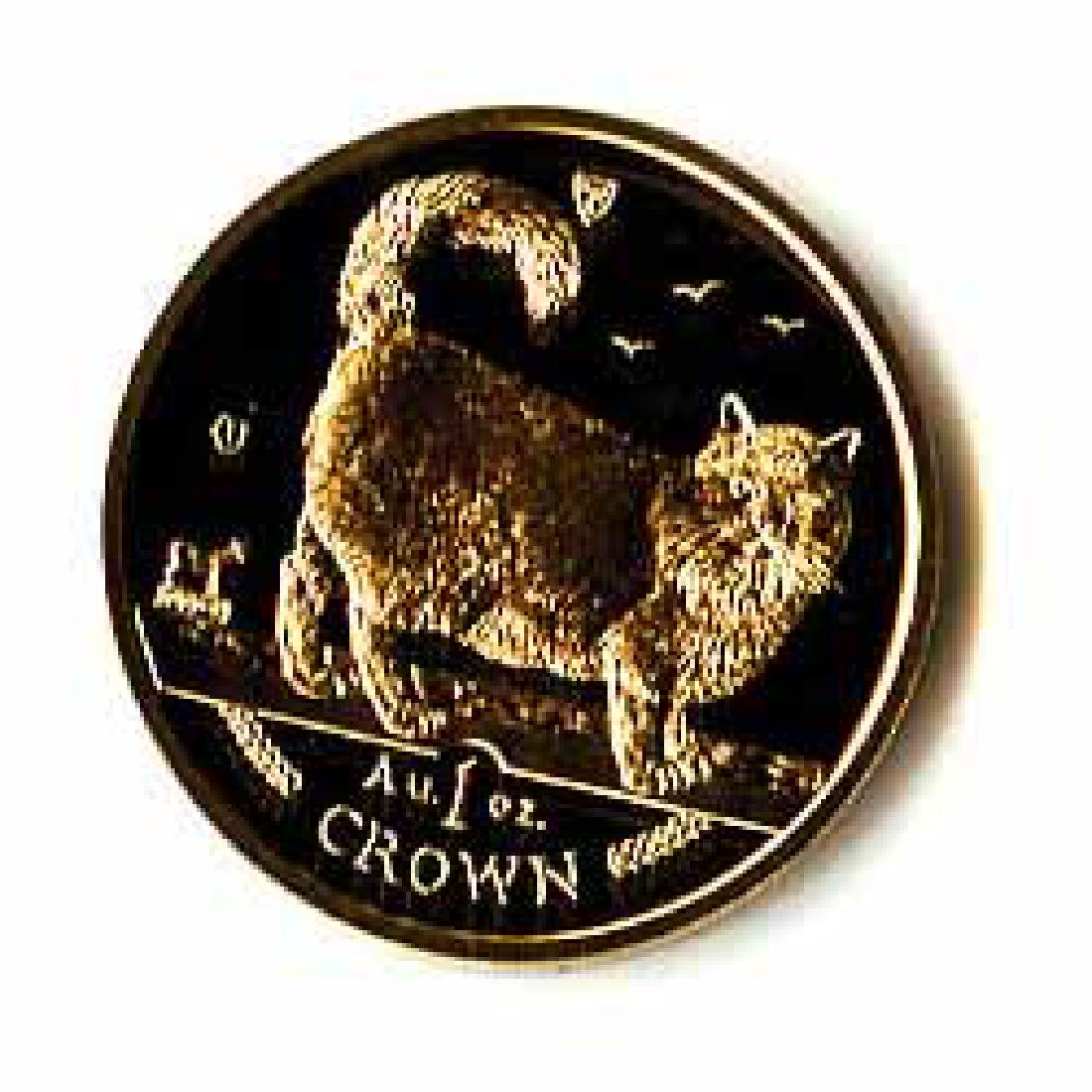 Isle of Man Gold Cat 1 Ounce 1998