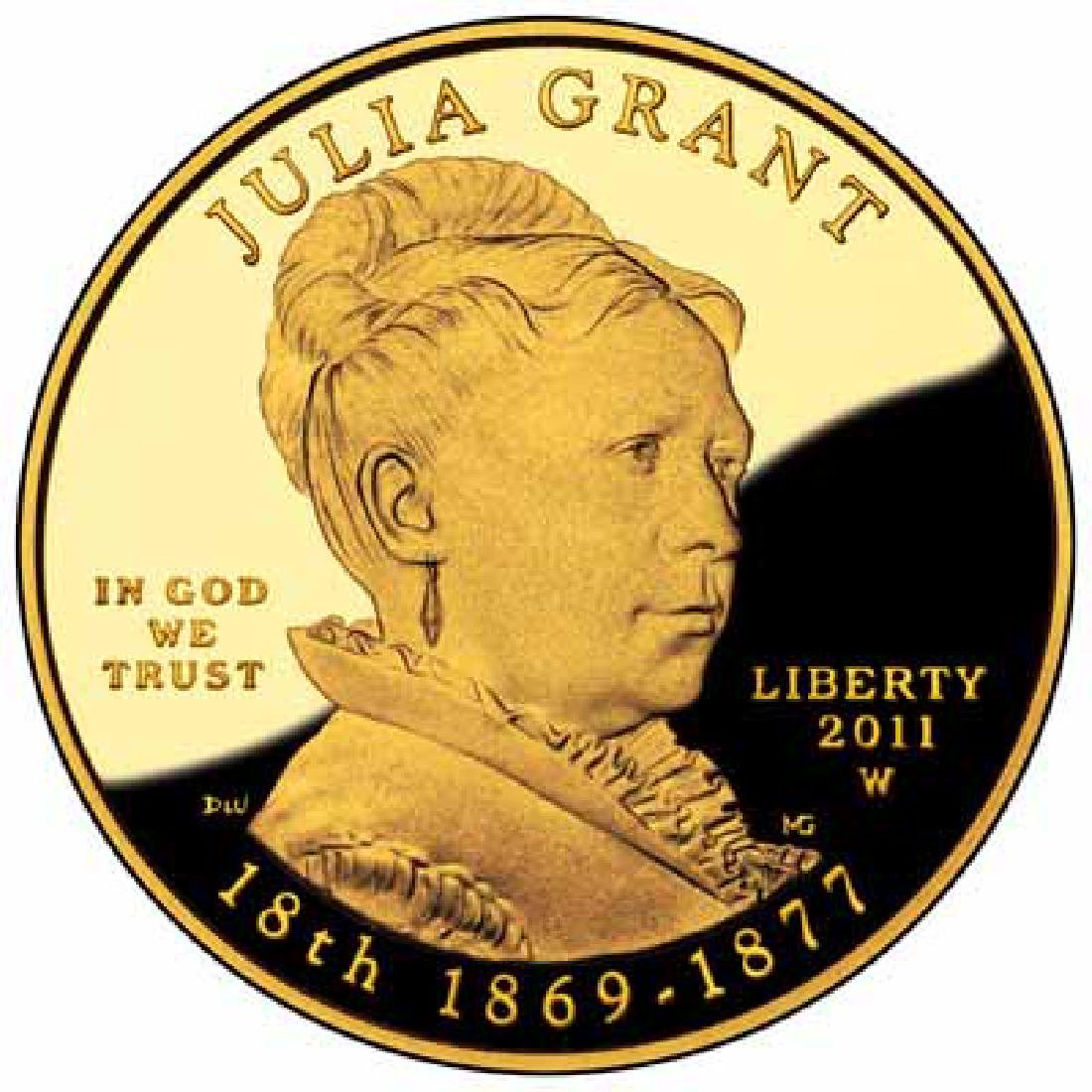 First Spouse 2011 Julia Grant Proof