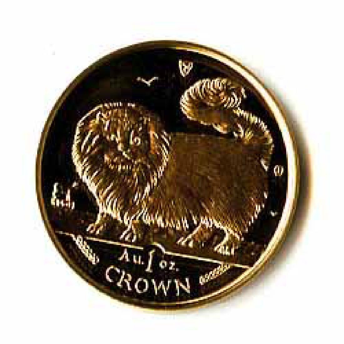 Isle of Man Gold Cat 1 Ounce 1997