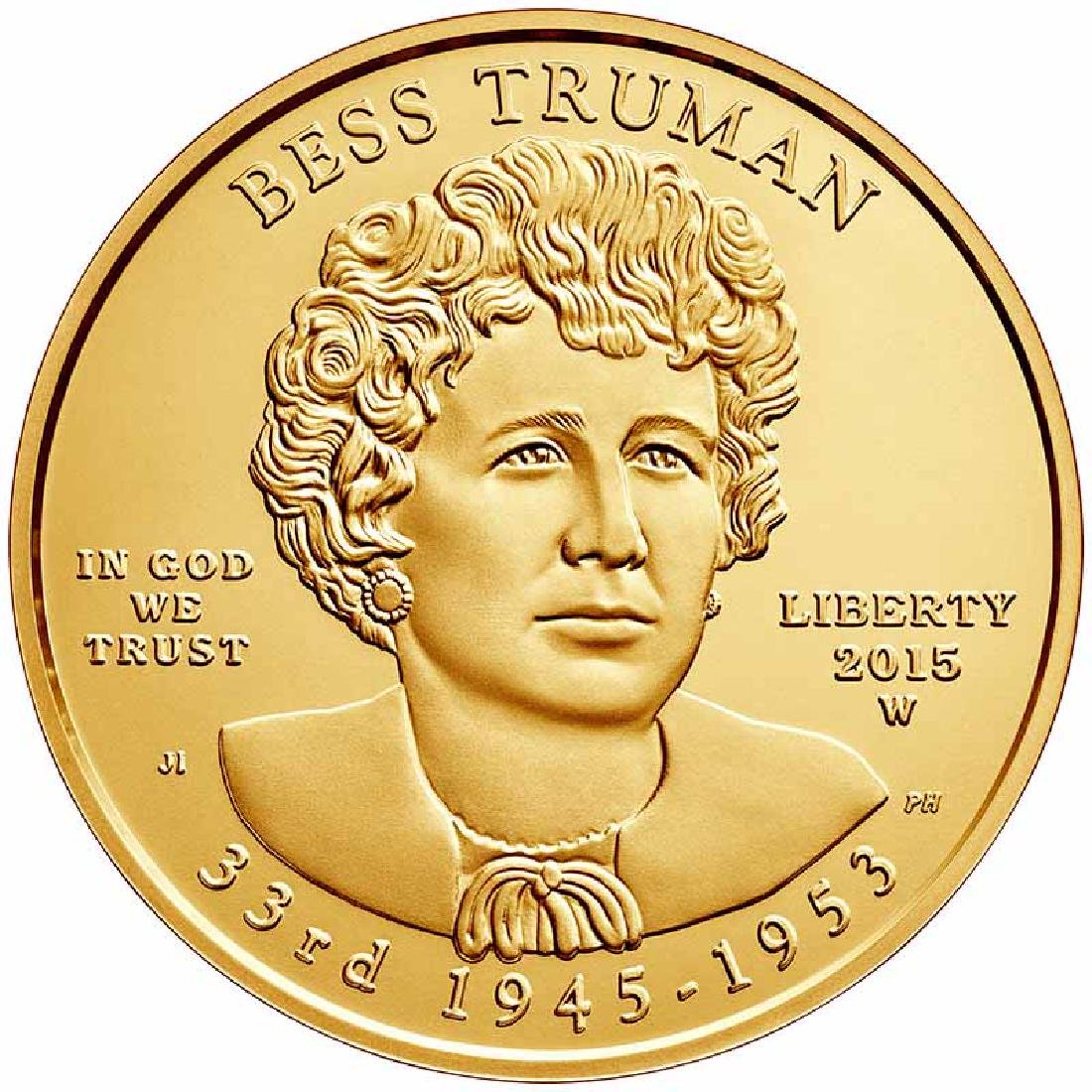 First Spouse 2015 Bess Truman Uncirculated