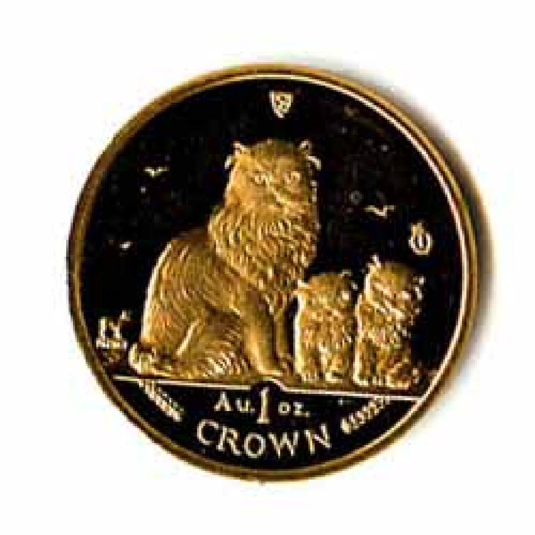 Isle of Man Gold Cat 1 Ounce 2005