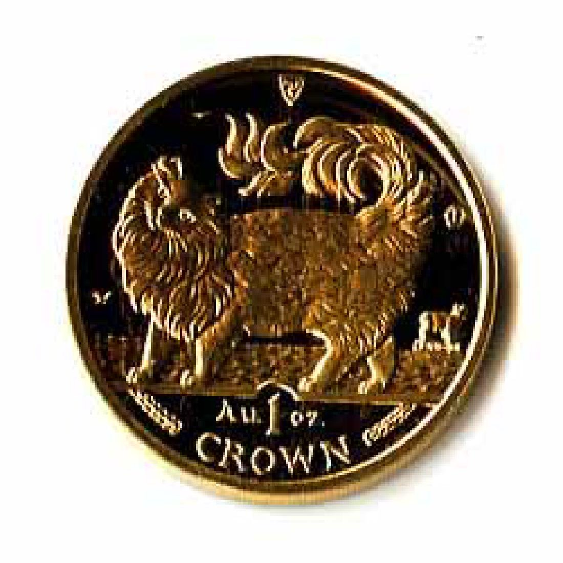Isle of Man Gold Cat 1 Ounce 1993