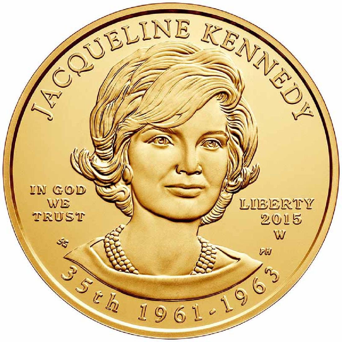 First Spouse 2015 Jacqueline Kennedy Uncirculated