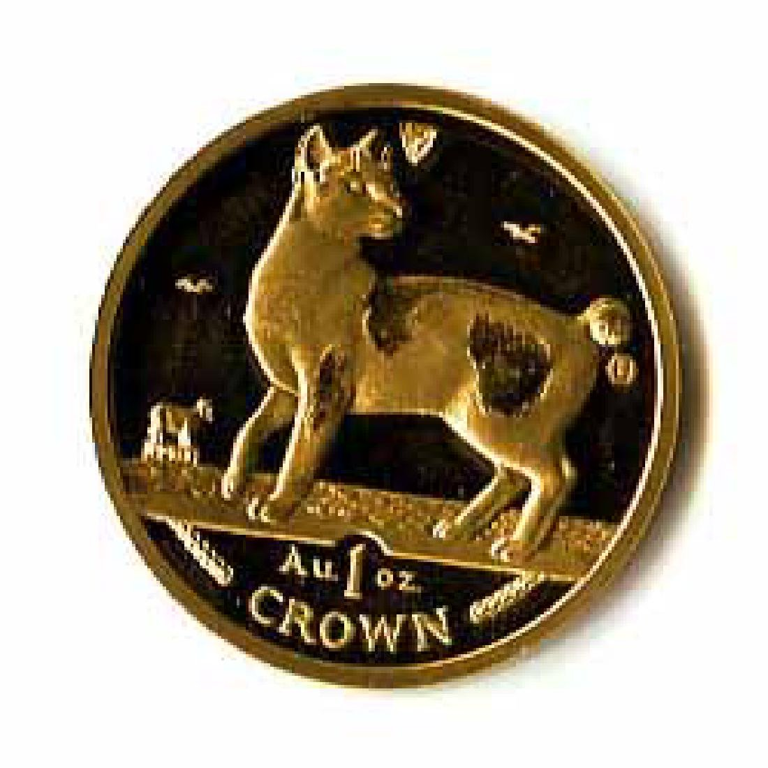 Isle of Man Gold Cat 1 Ounce 1994
