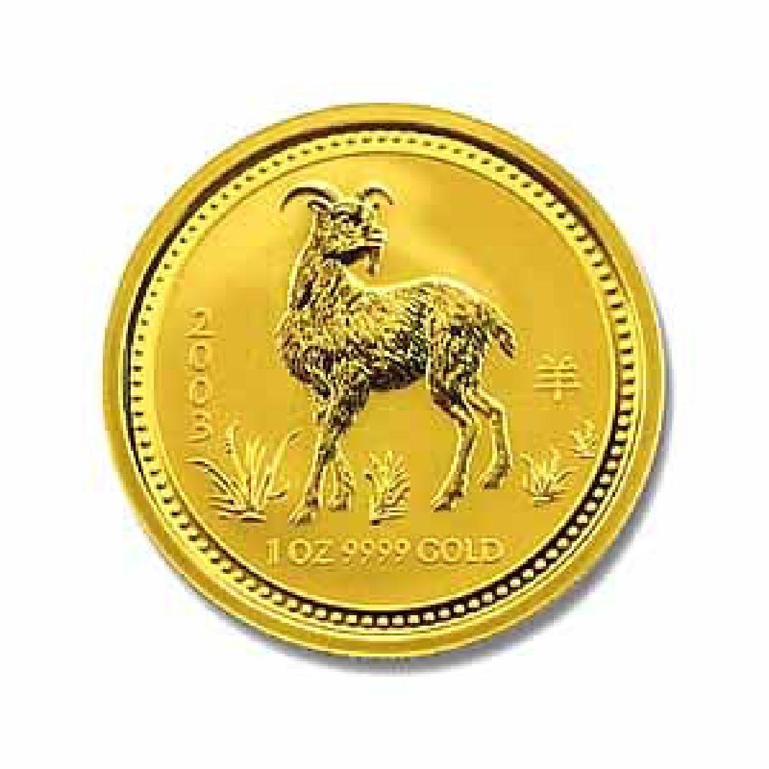 2003 Australia 1 oz Gold Lunar Goat