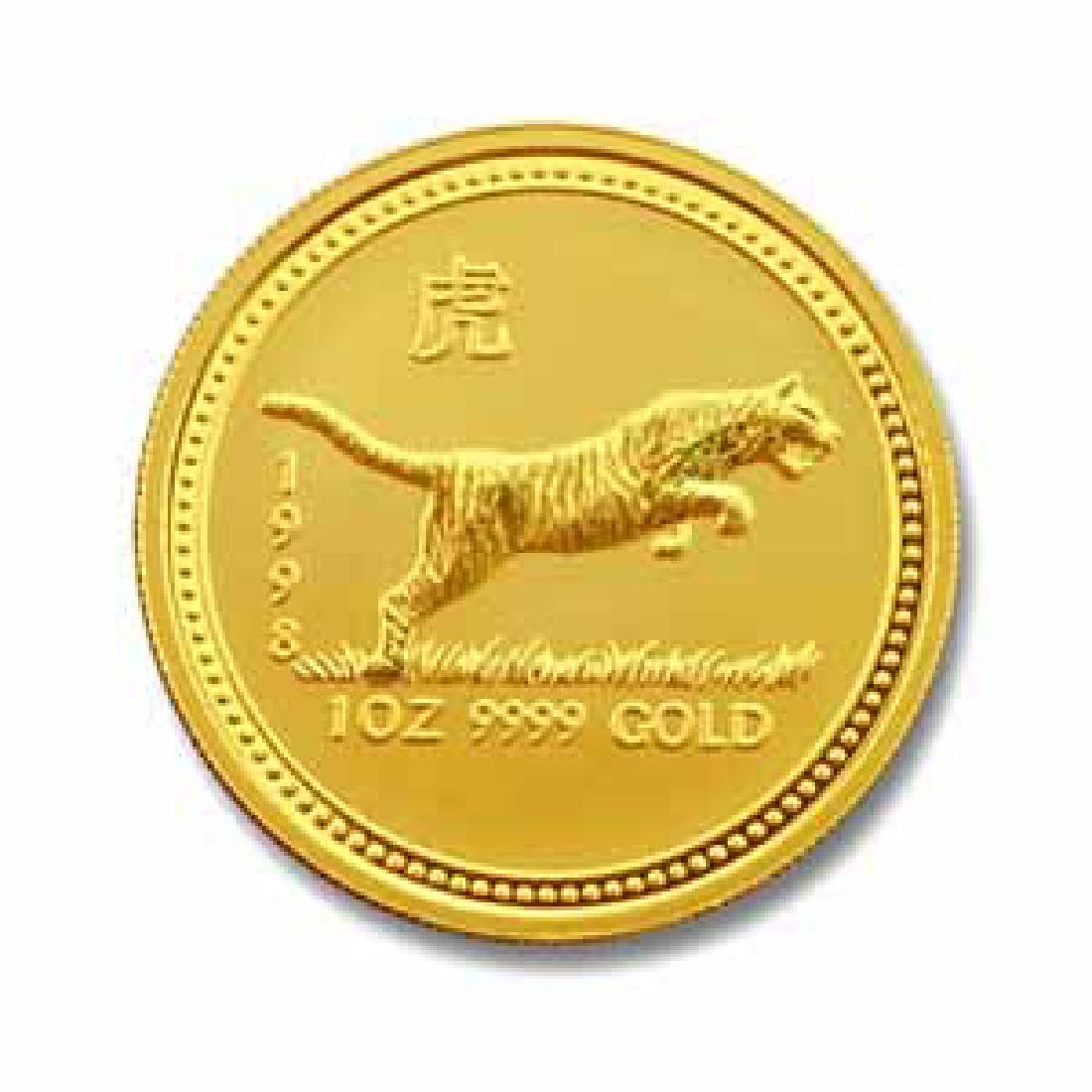1998 Australia 1 oz Gold Lunar Tiger
