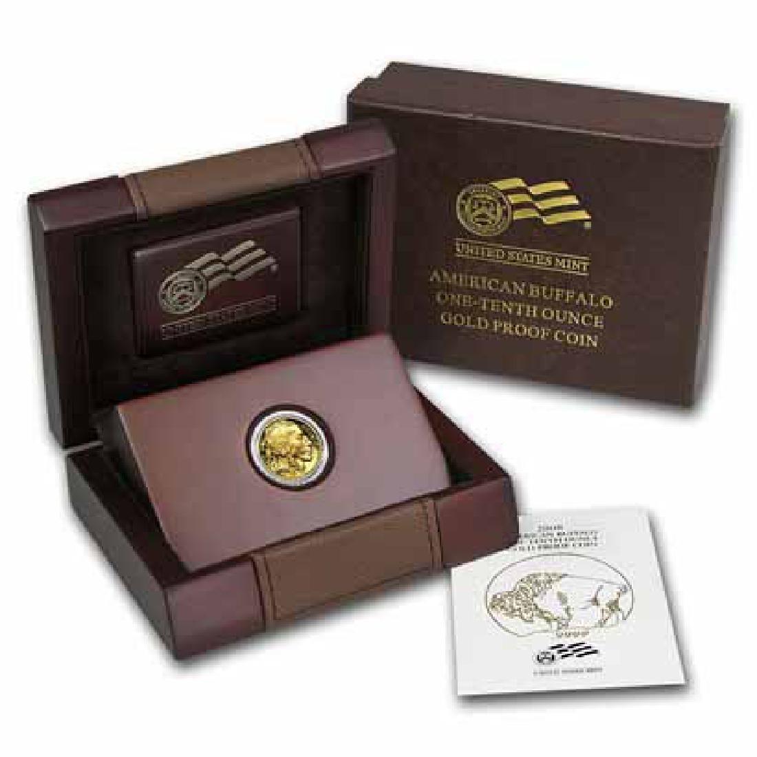 Proof Buffalo Gold Coin 1/10 Ounce 2008-W