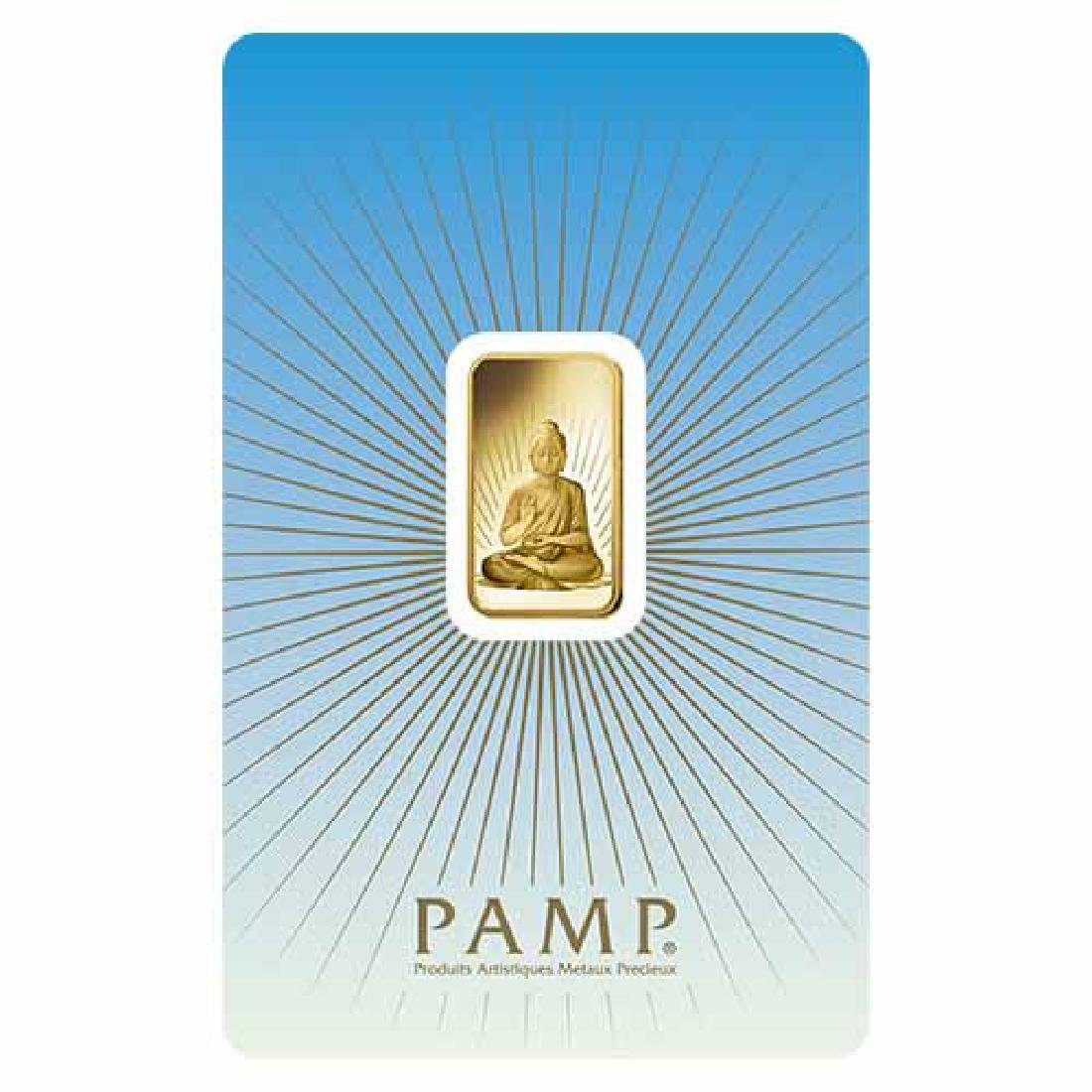 PAMP Suisse 5 Gram Gold Bar - Buddha