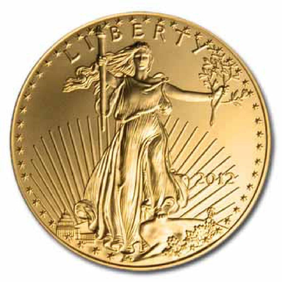 2012 American Gold Eagle 1oz Uncirculated