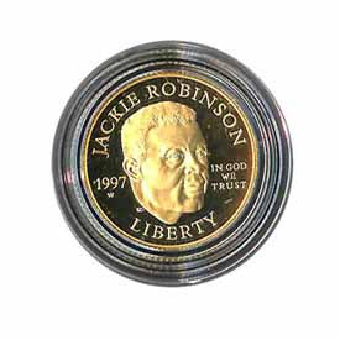 Gold $5 Commemorative 1997 Robinson Proof