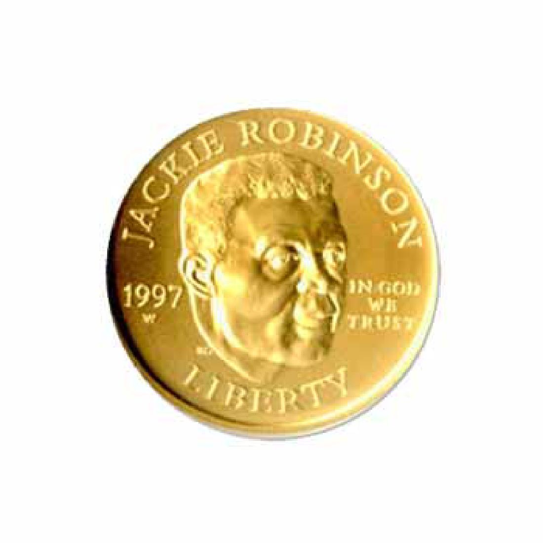 Gold $5 Commemorative 1997 Robinson Uncirculated