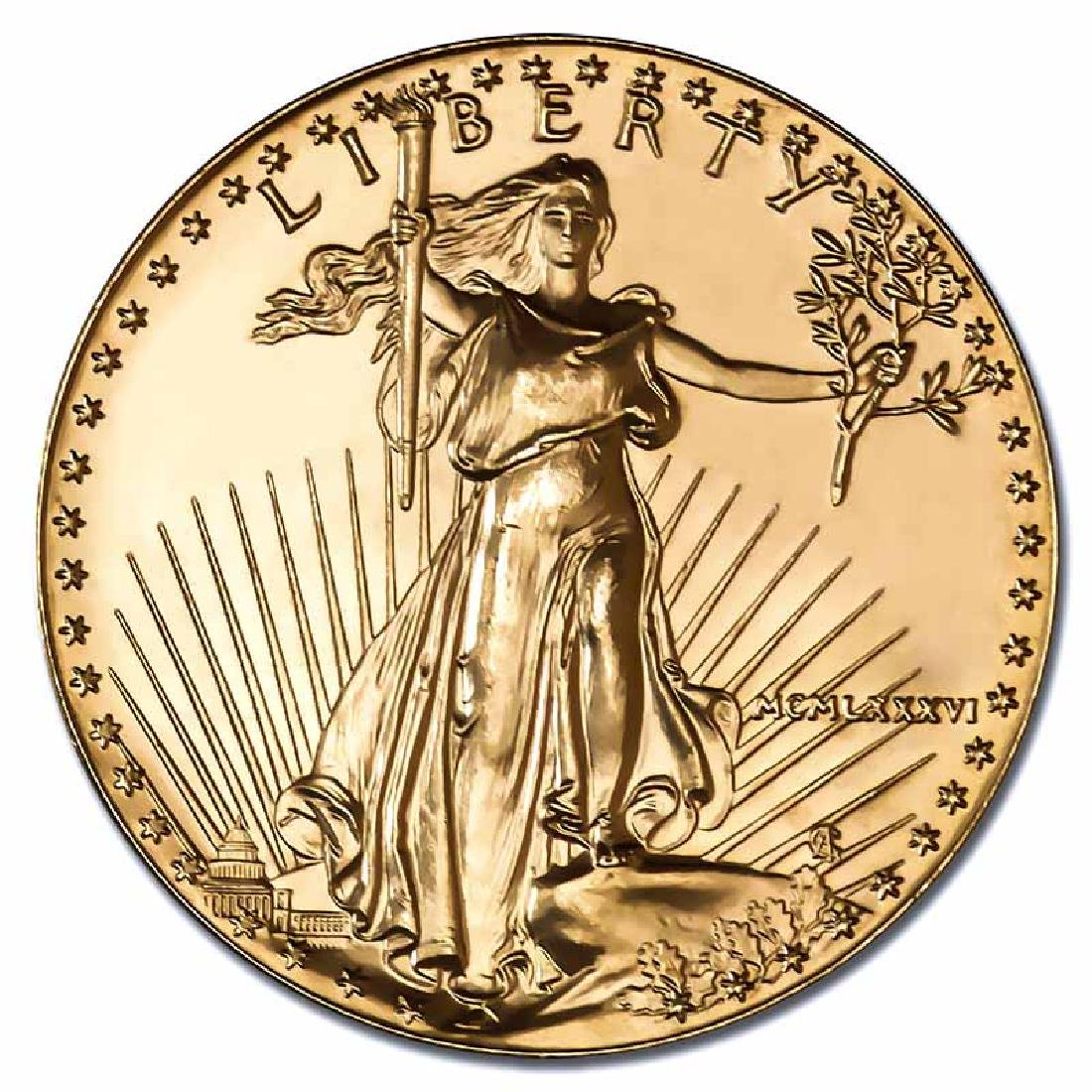 1986 American Gold Eagle 1 oz Uncirculated