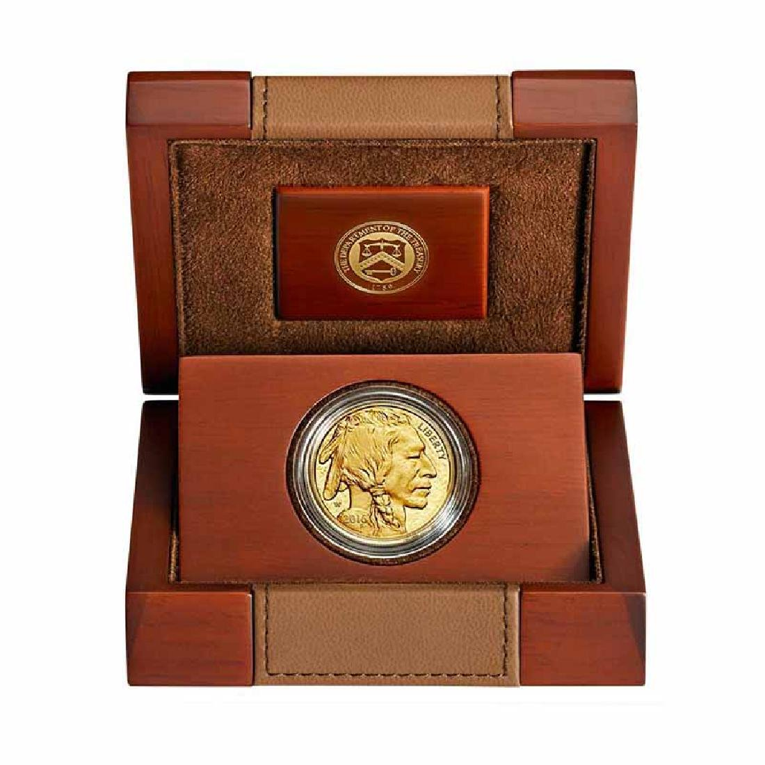 Proof Buffalo Gold Coin One Ounce 2016-W