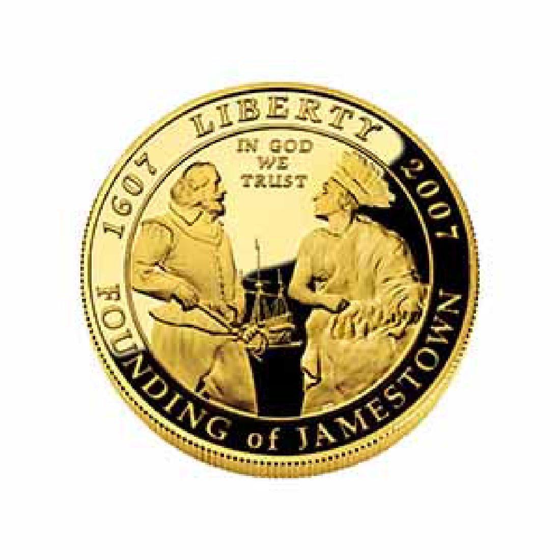 Gold $5 Commemorative 2007 Jamestown Proof