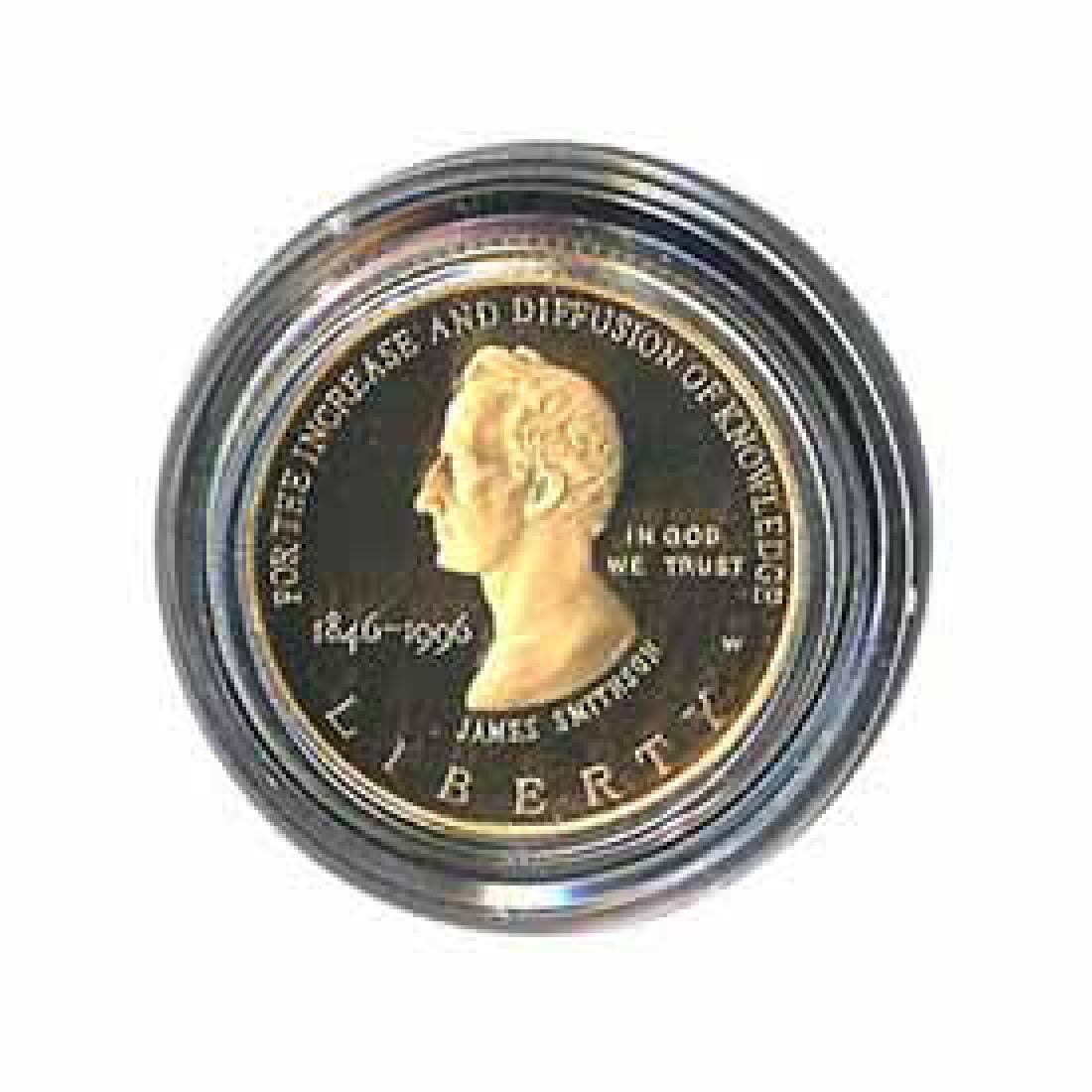 Gold $5 Commemorative 1996 Smithsonian Proof