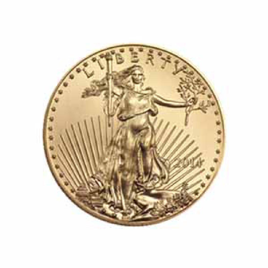 2014 American Gold Eagle 1/2 oz Uncirculated