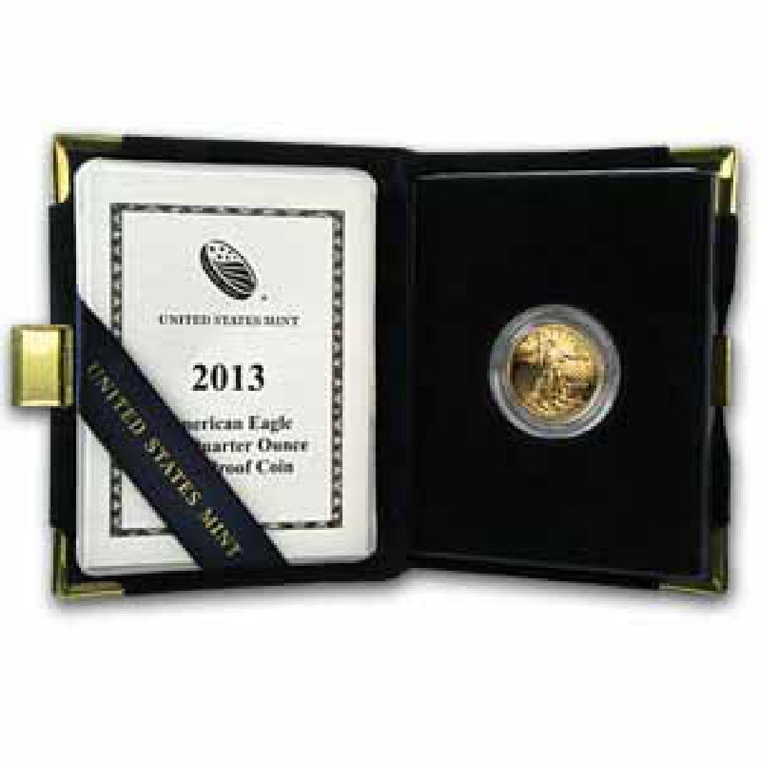 Proof American Gold Eagle Quarter Ounce 2013