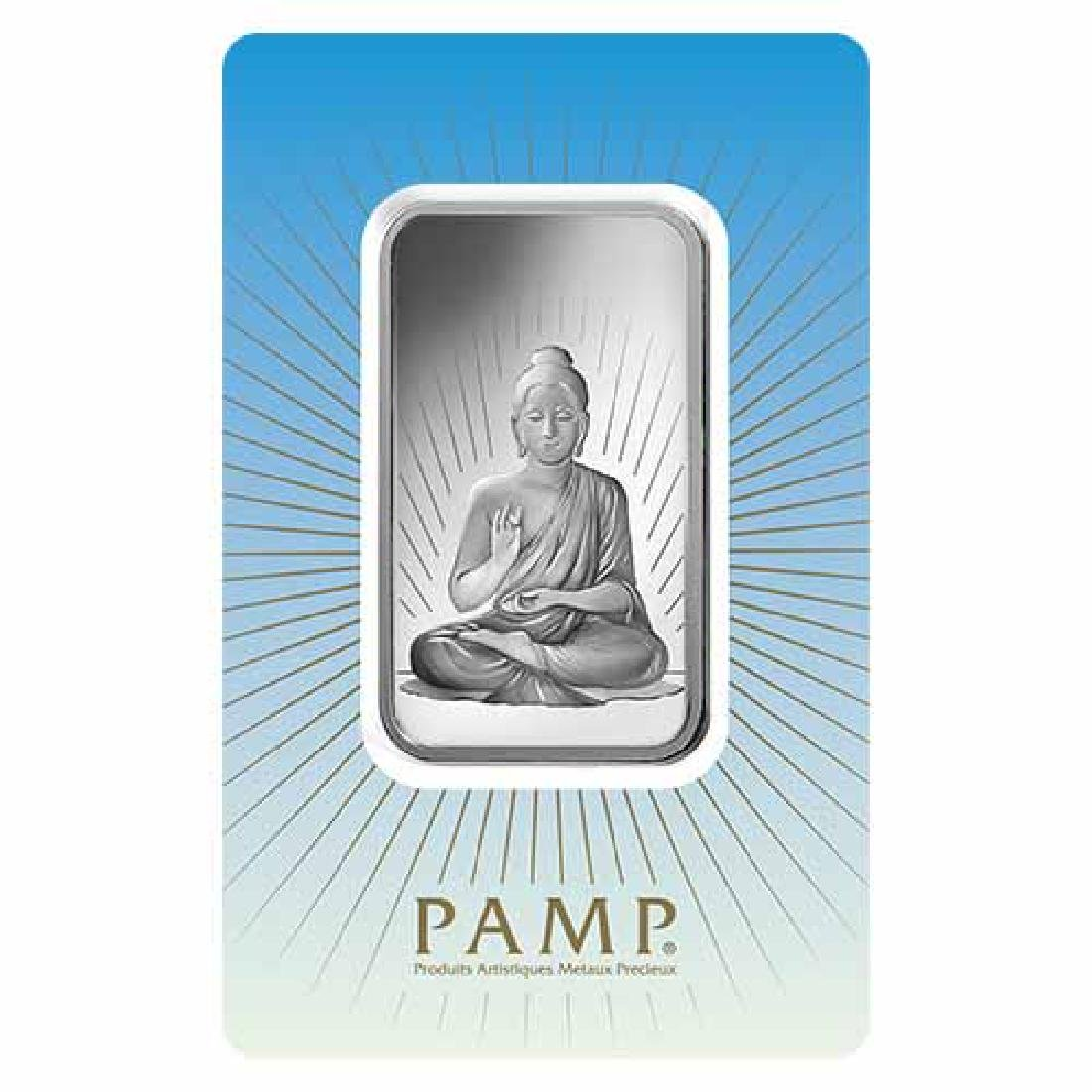 PAMP Suisse Silver Bar 1 oz - Buddha
