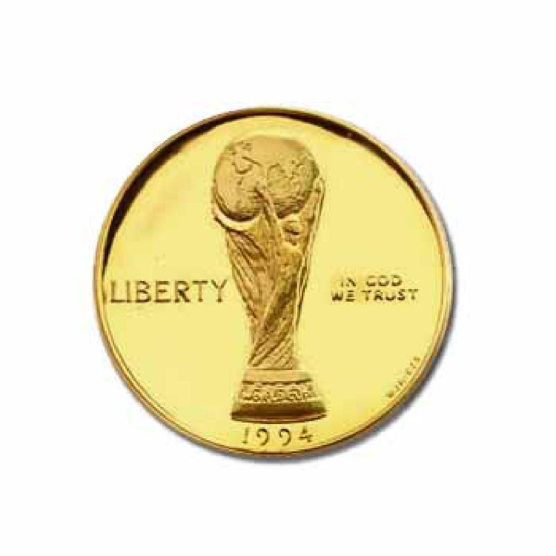 Gold $5 Commemorative 1994 World Cup Proof