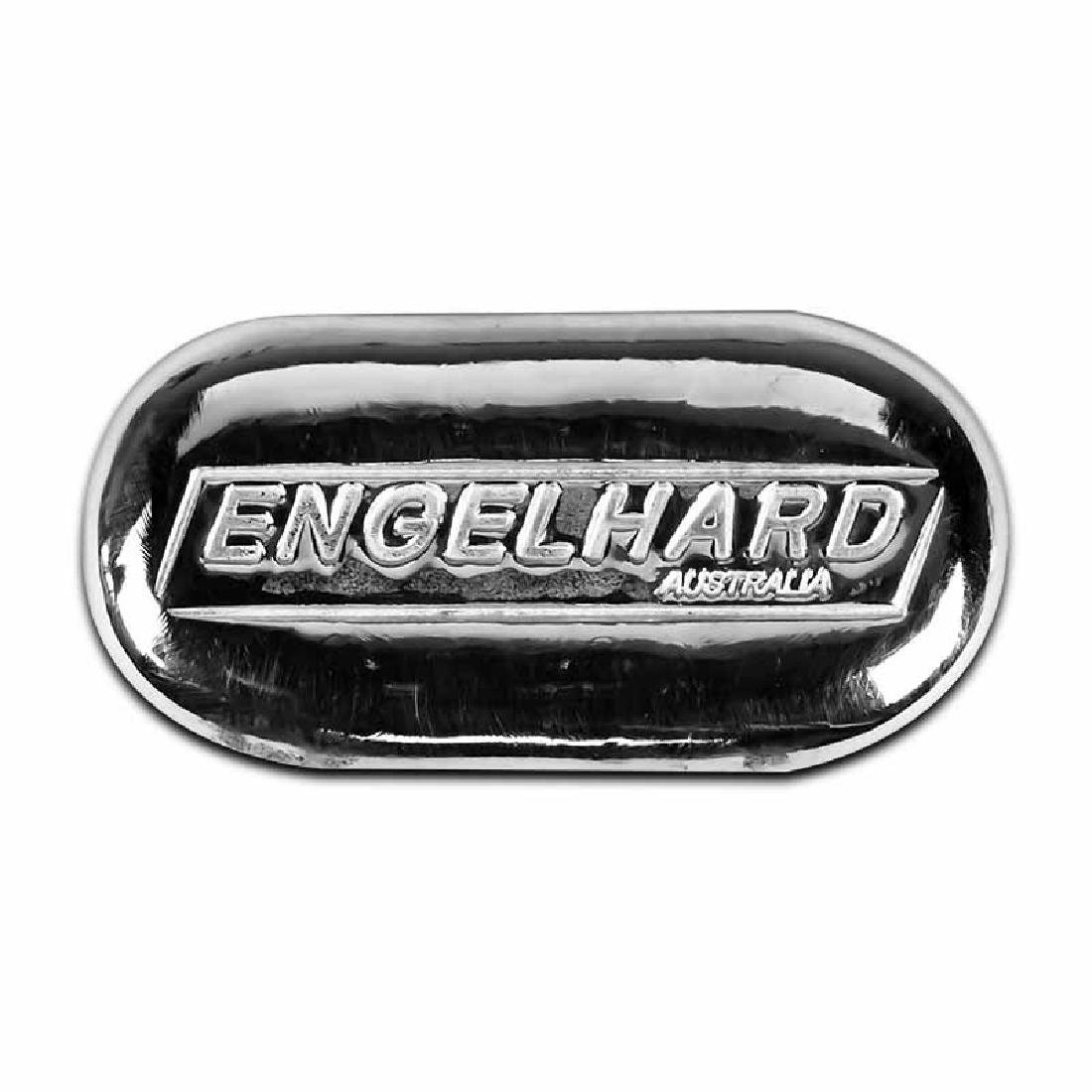 Engelhard Silver Bar 2 oz Bar - New Cast