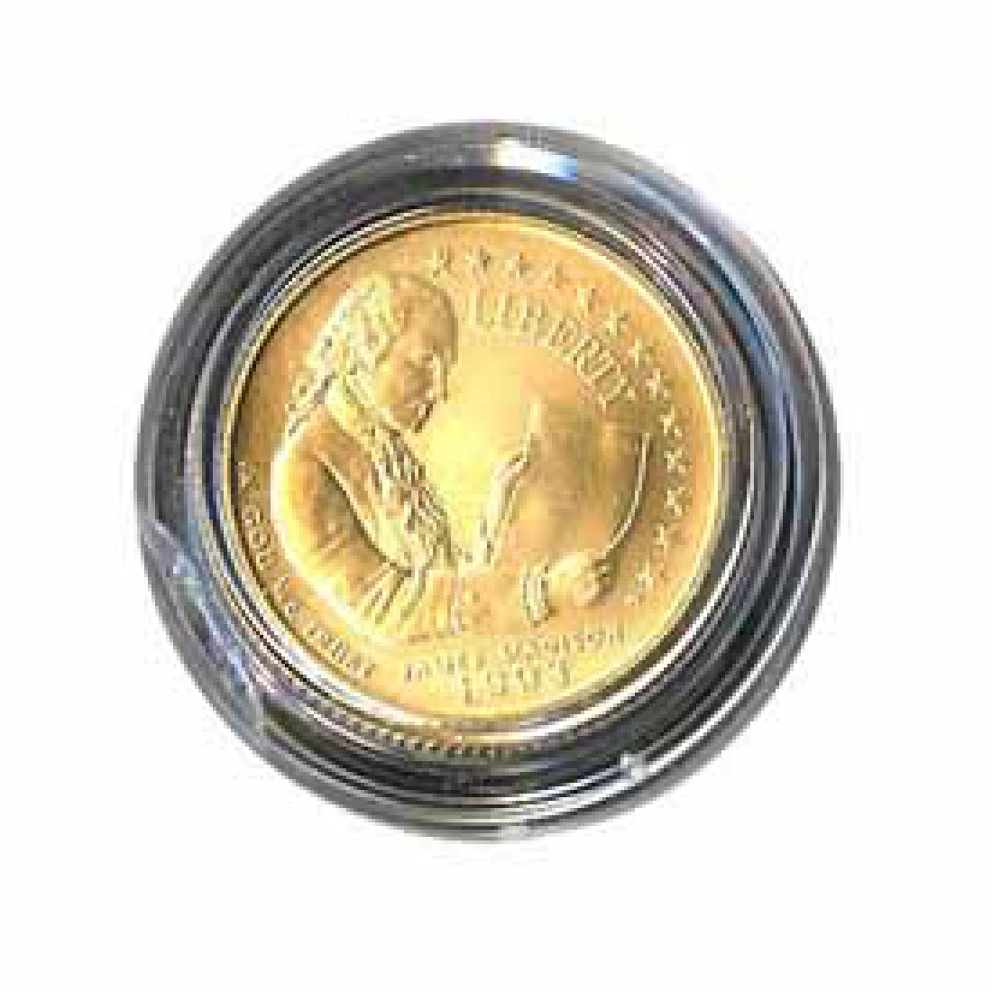 Gold $5 Commemorative 1993 Bill Of Rights BU