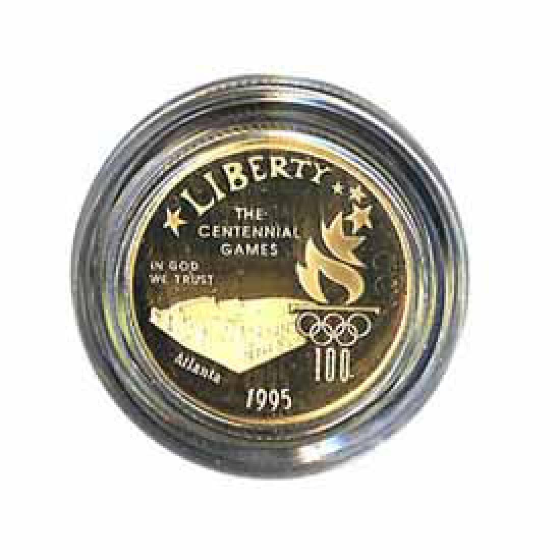 Gold $5 Commemorative 1995 Stadium Proof