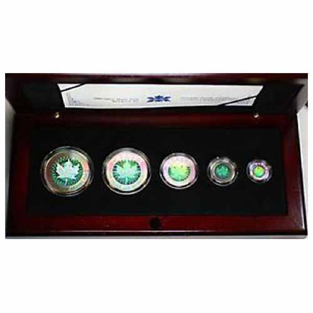 Canada 2003 Five Piece Silver Hologram Set
