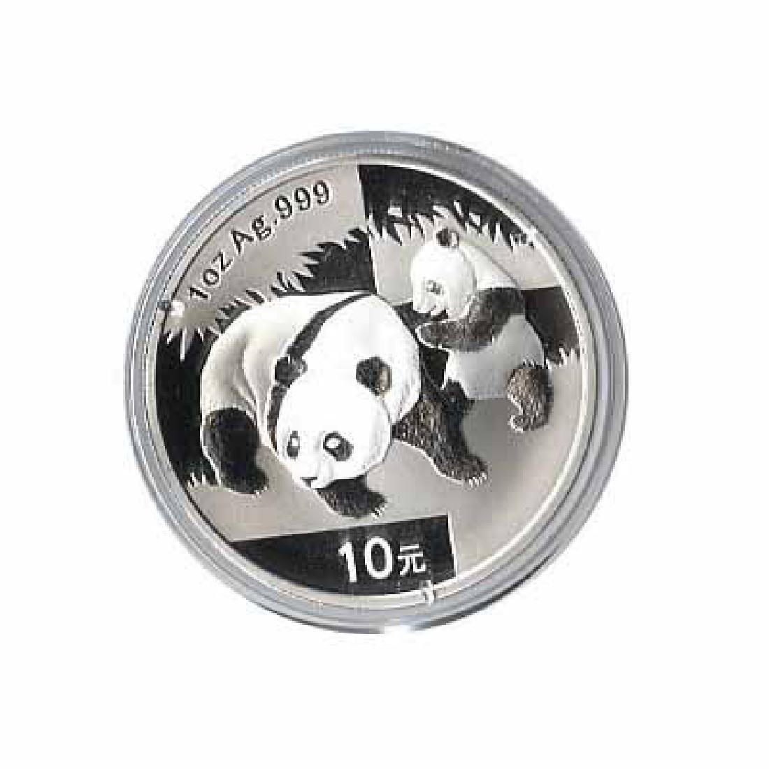 2008 Chinese Silver Panda 1 oz