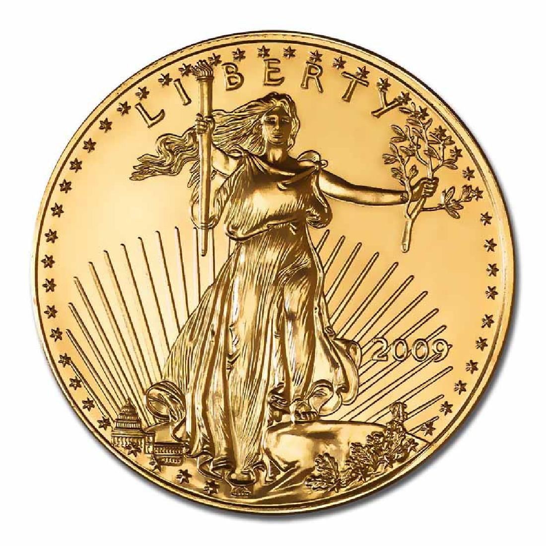 2009 American Gold Eagle 1 oz Uncirculated