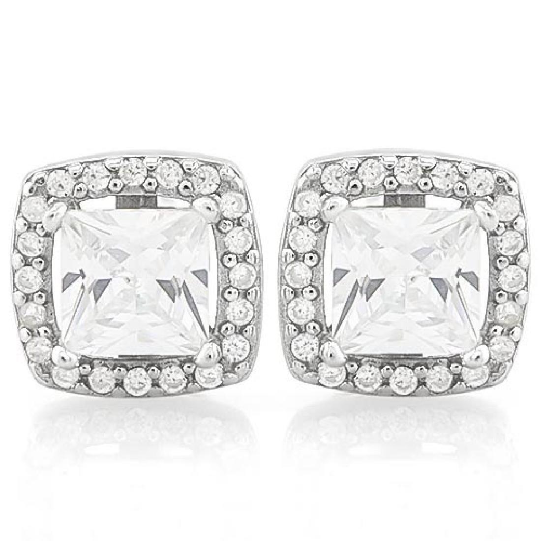 7 CARAT (42 PCS) FLAWLESS CREATED DIAMOND 925 STERLING