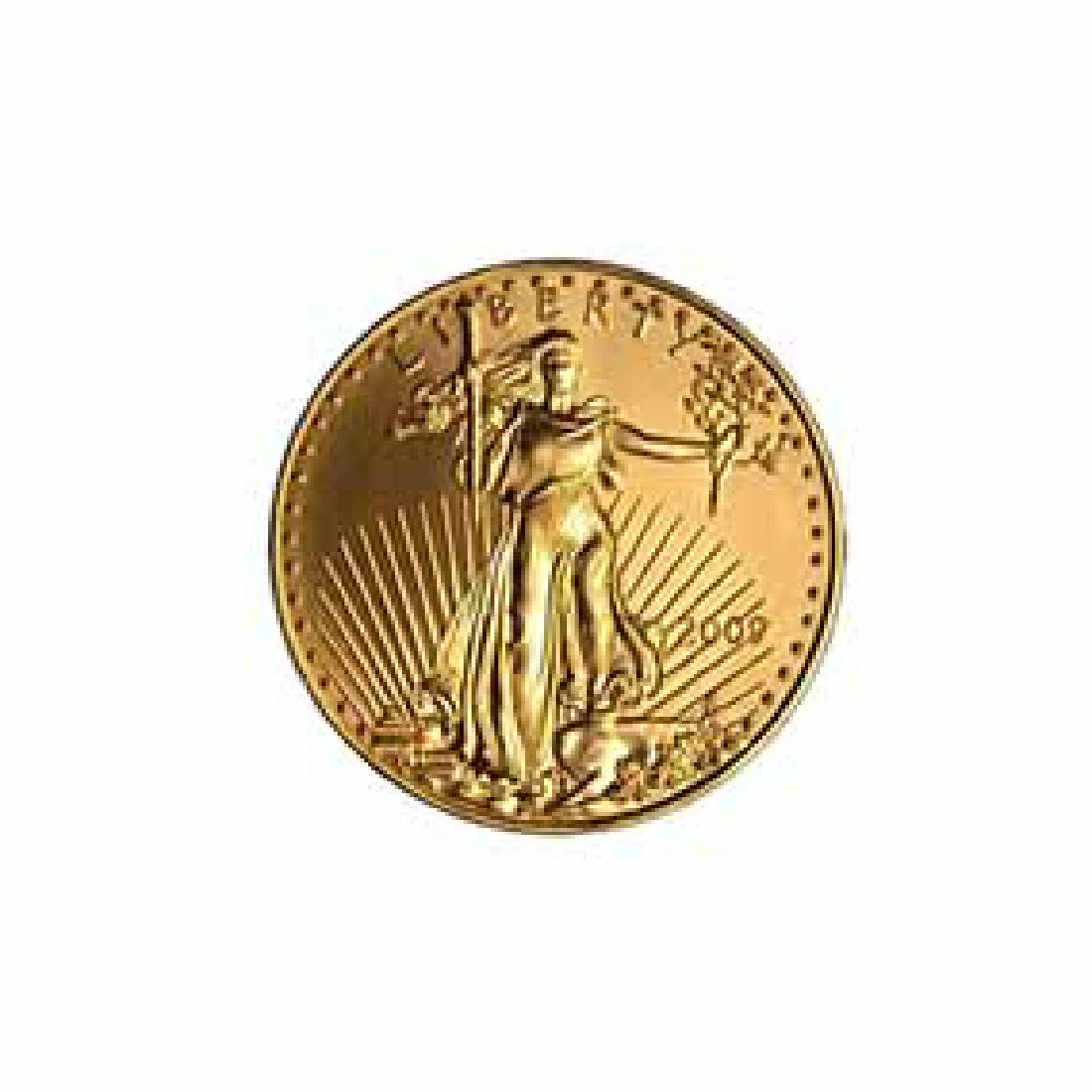 2009 American Gold Eagle 1/10 oz Uncirculated