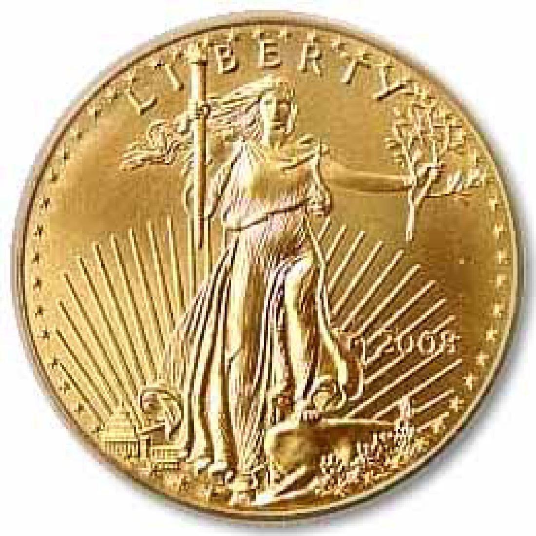 2008 American Gold Eagle 1 oz Uncirculated