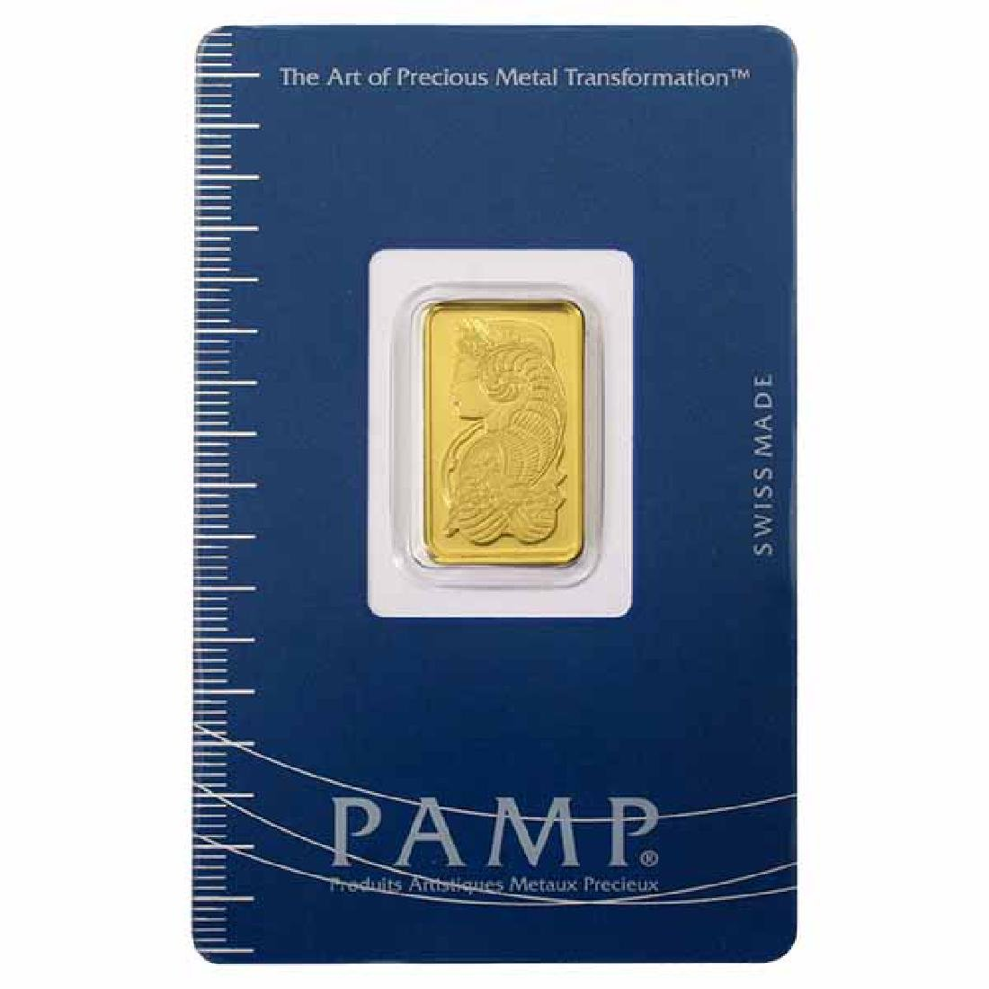 PAMP Suisse 5 Gram Gold Bar