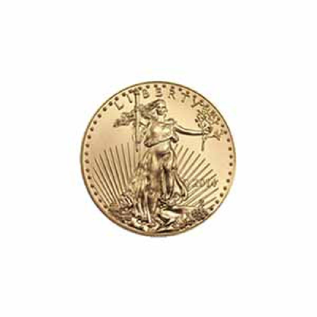 2014 American Gold Eagle 1/10 oz Uncirculated