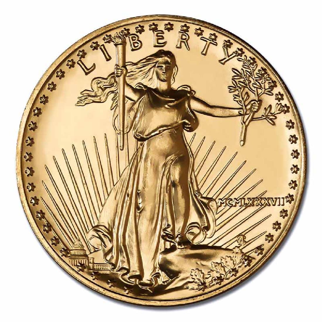 1987 American Gold Eagle 1 oz Uncirculated