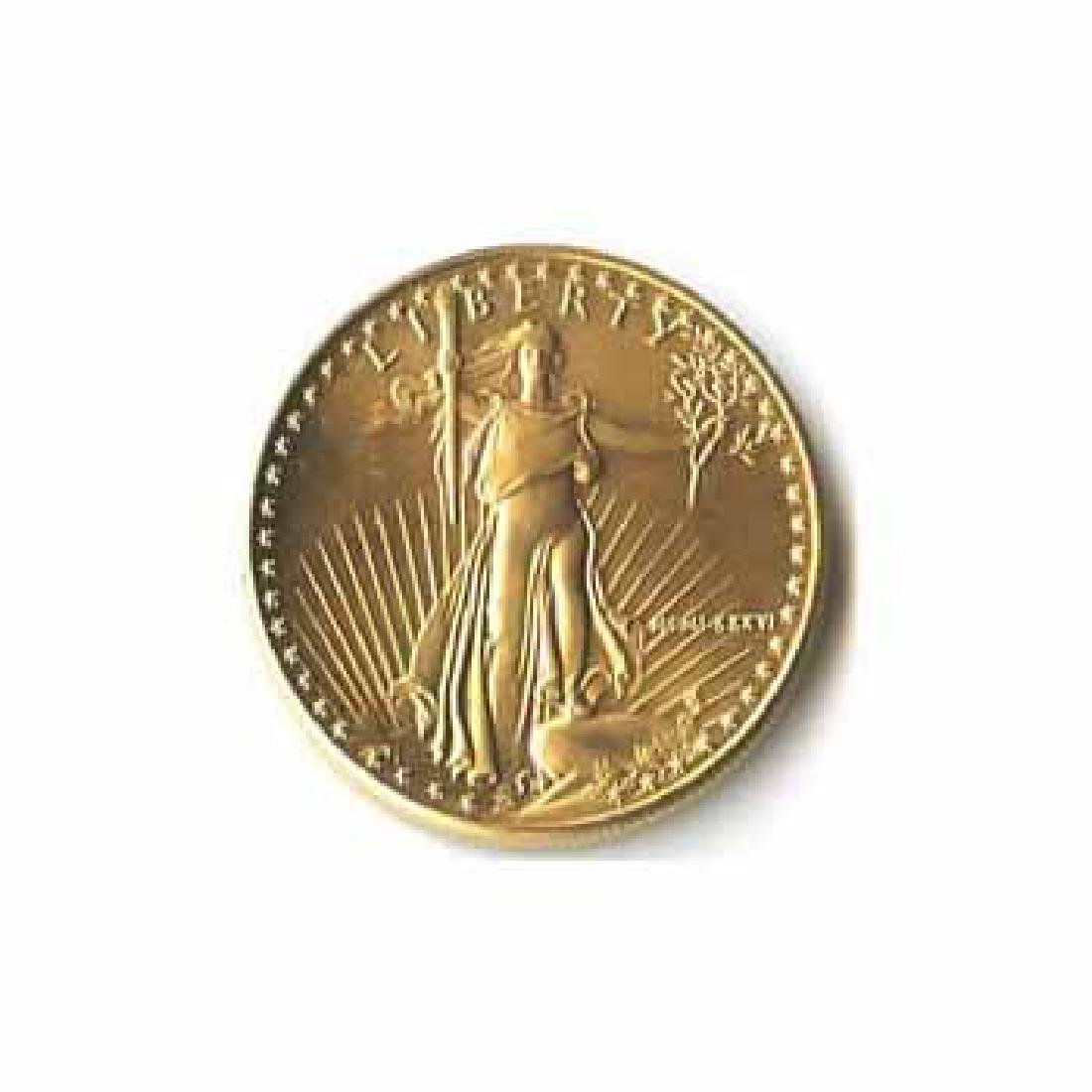 1986 American Gold Eagle 1/10 oz Uncirculated