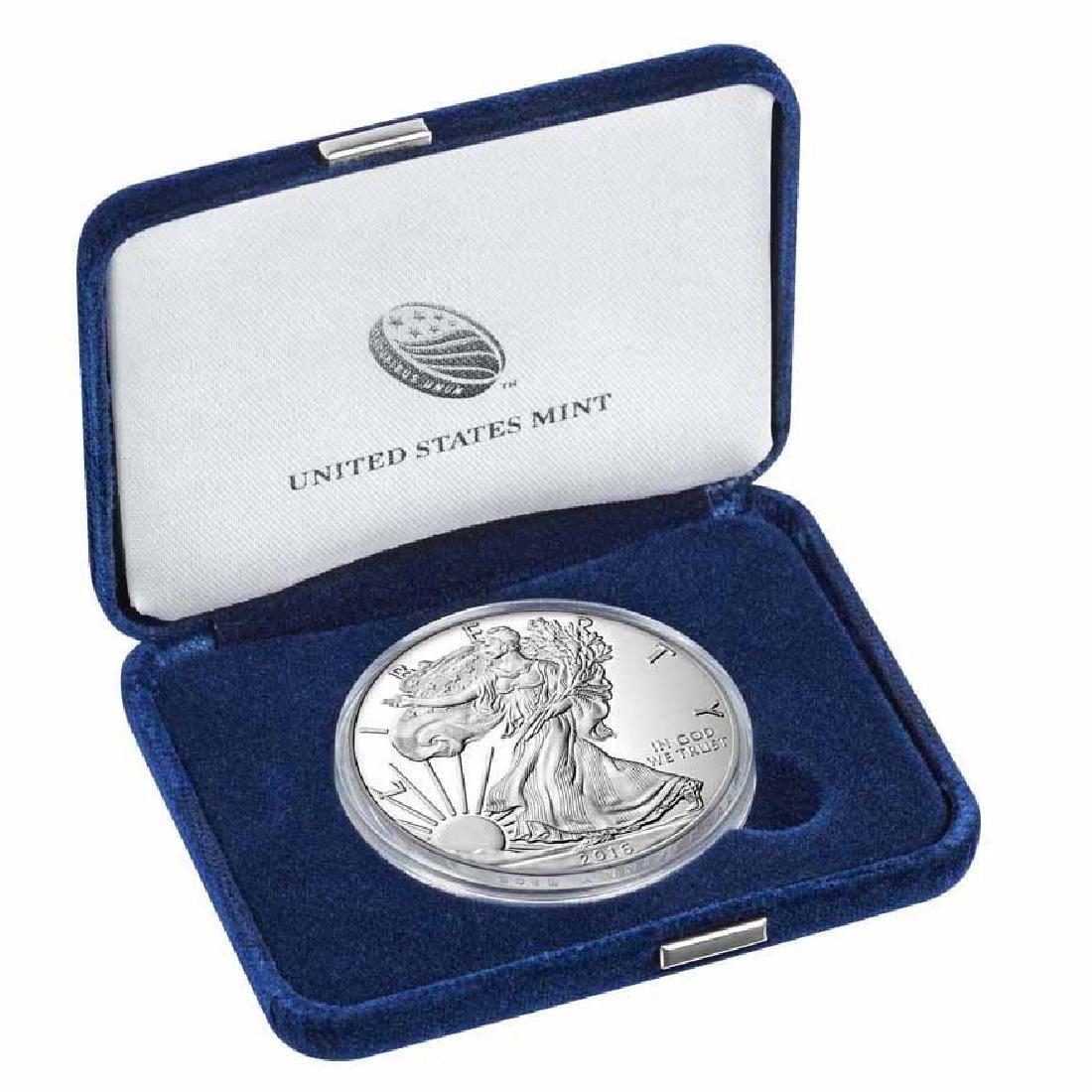 Proof Silver Eagle 2016-W