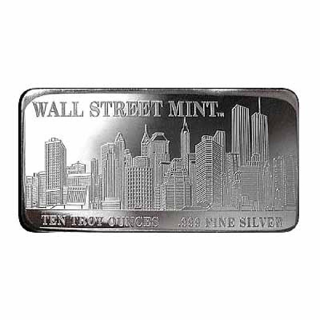 Wall Street Mint Silver Bar 10 oz