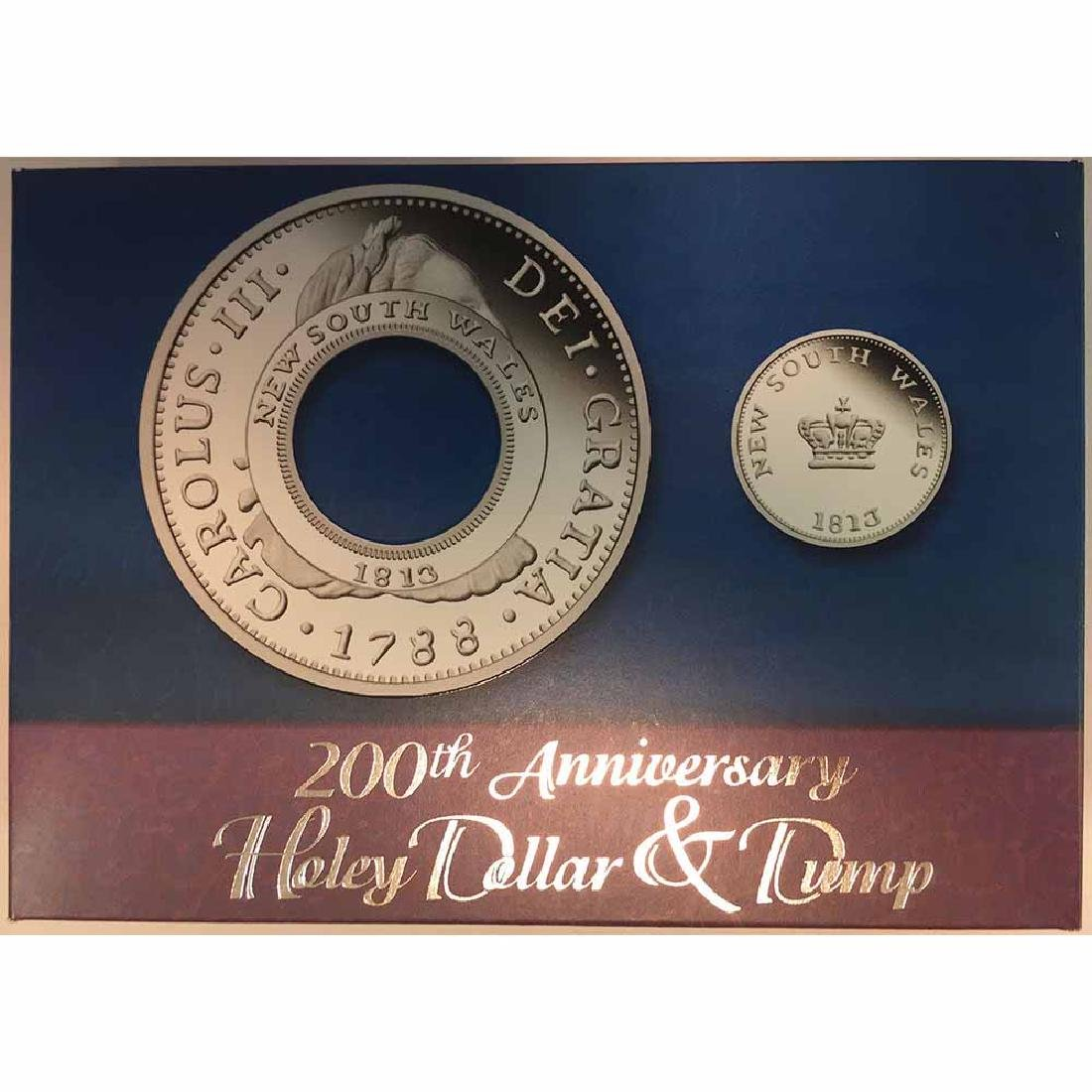 Australia 2013 Holey Dollar and Dump Silver Proof Set