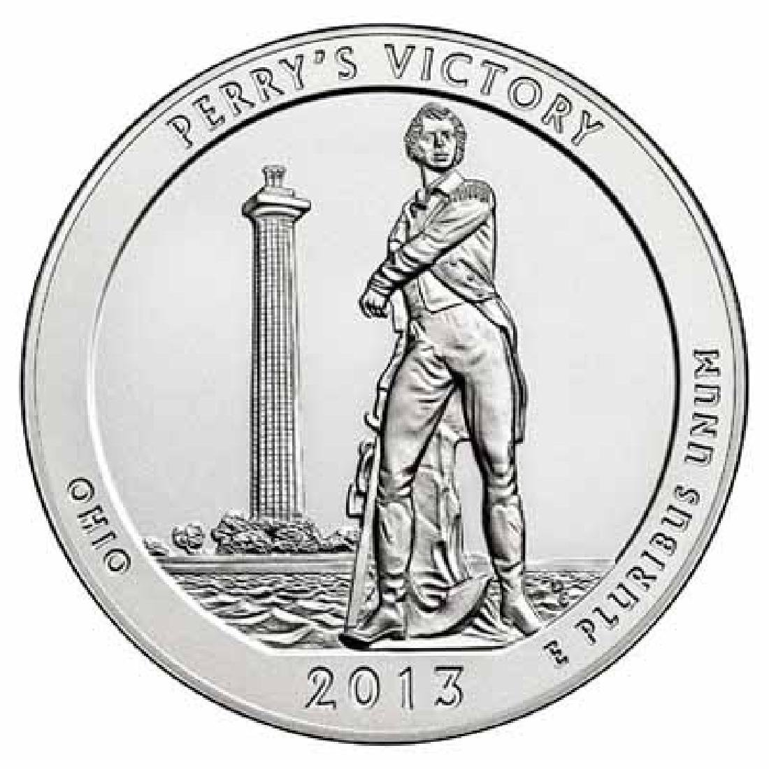 2013 Silver 5oz. Perrys Victory ATB