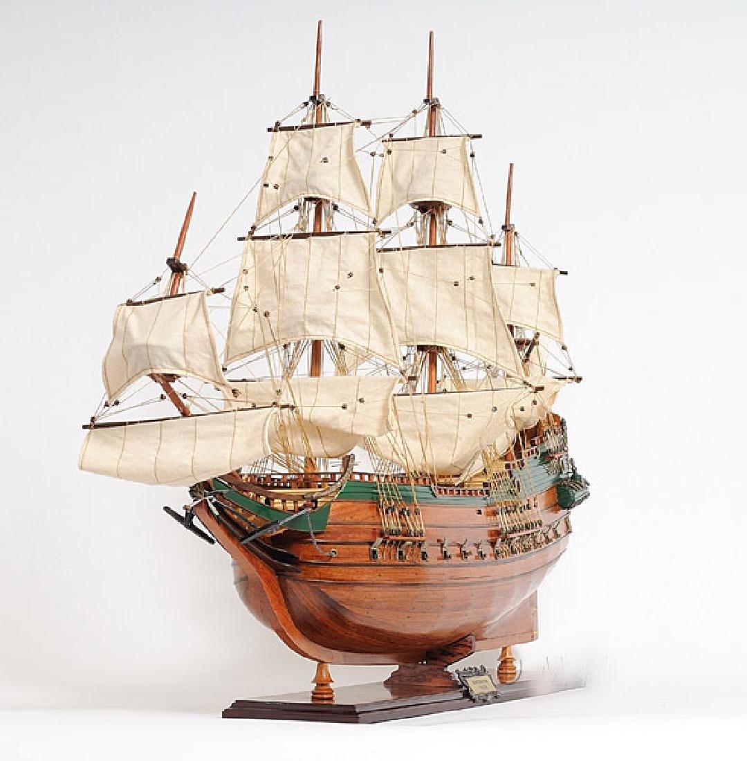 HAND MADE WOODEN Batavia Ship W/COA - 3