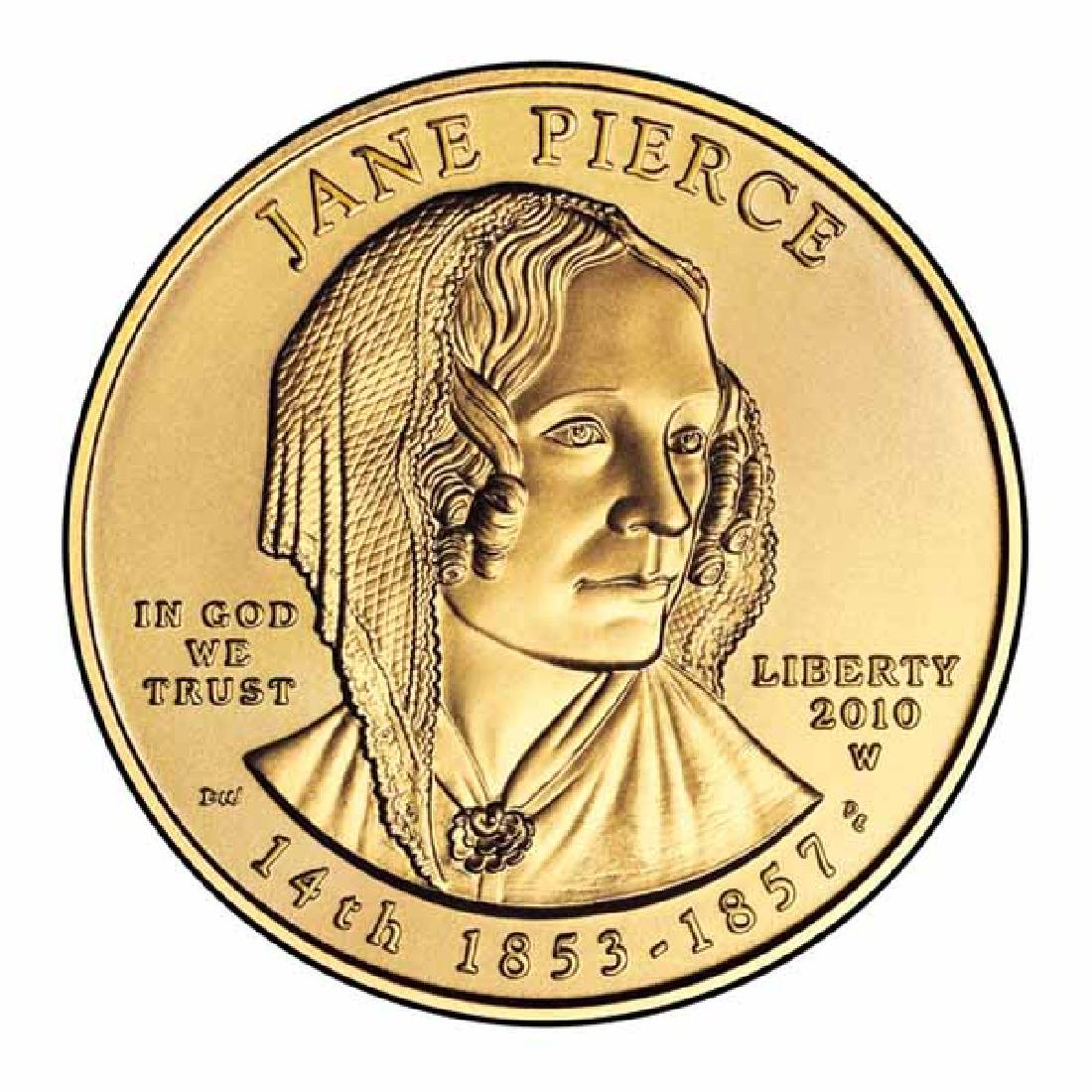 First Spouse 2010 Jane Pierce Uncirculated