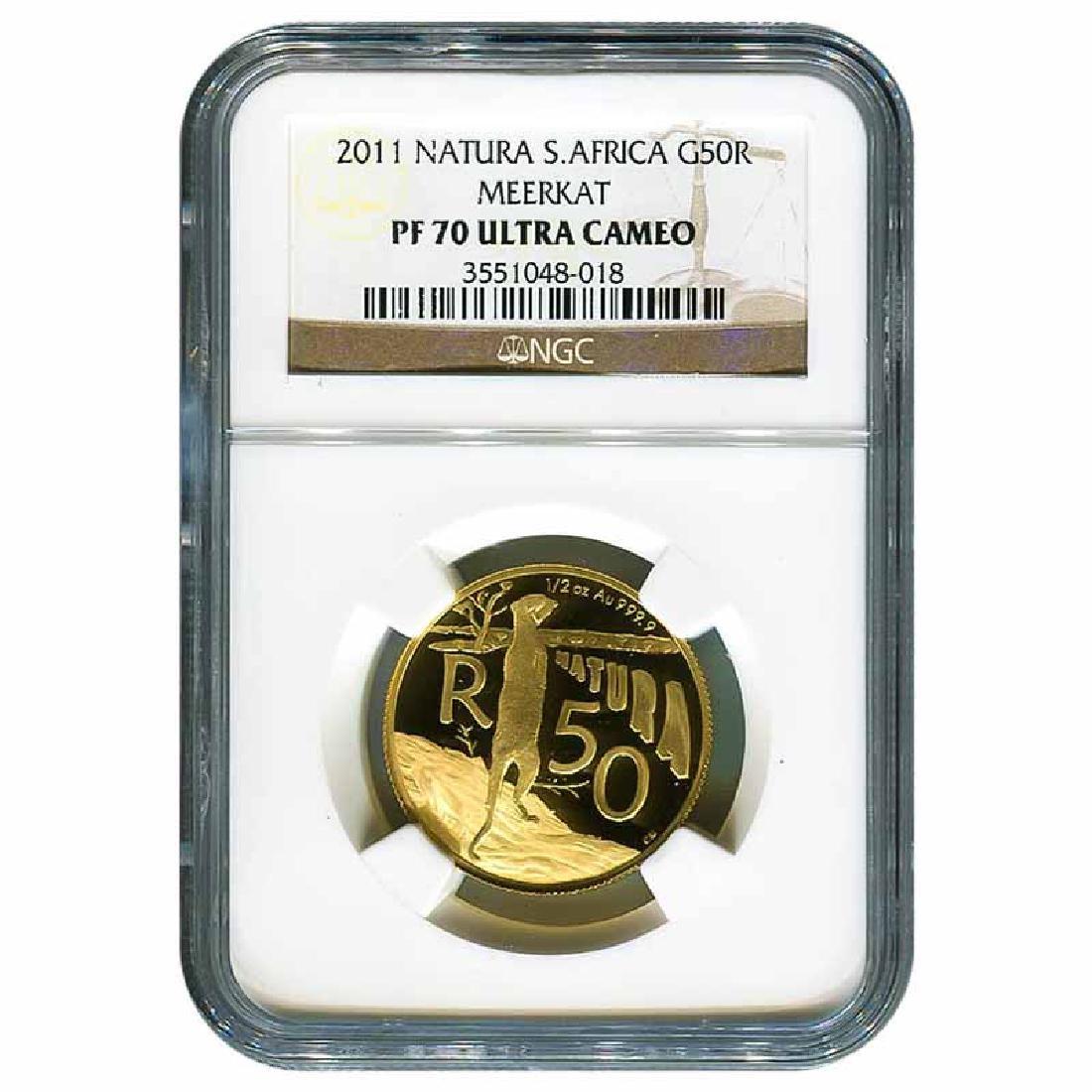 Certified South African Gold 2011 Natura Series Meerkat