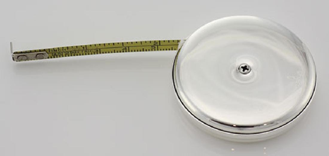 Sterling Silver Tape Measure - Sewing - Engravable - Ma - 3