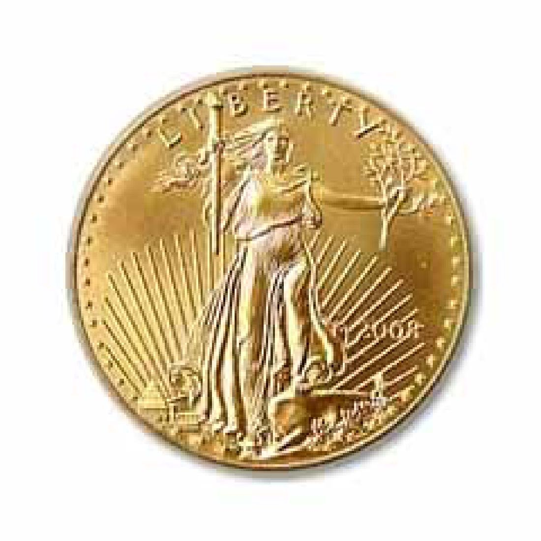 2008 American Gold Eagle 1/2 oz Uncirculated