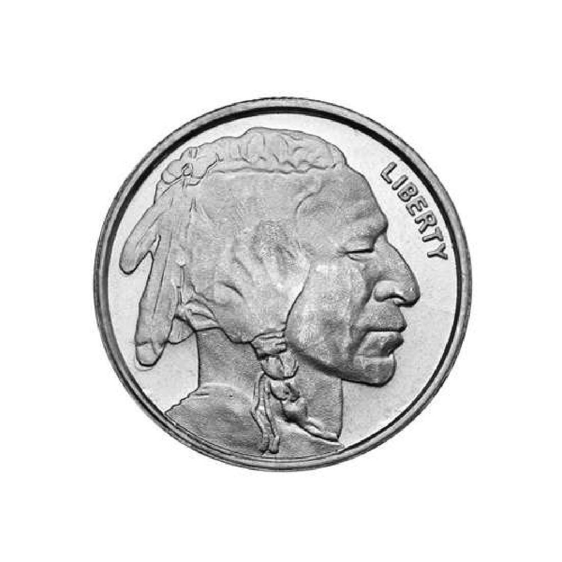 Silver Bullion 1/4 oz Buffalo Round .999 Fine