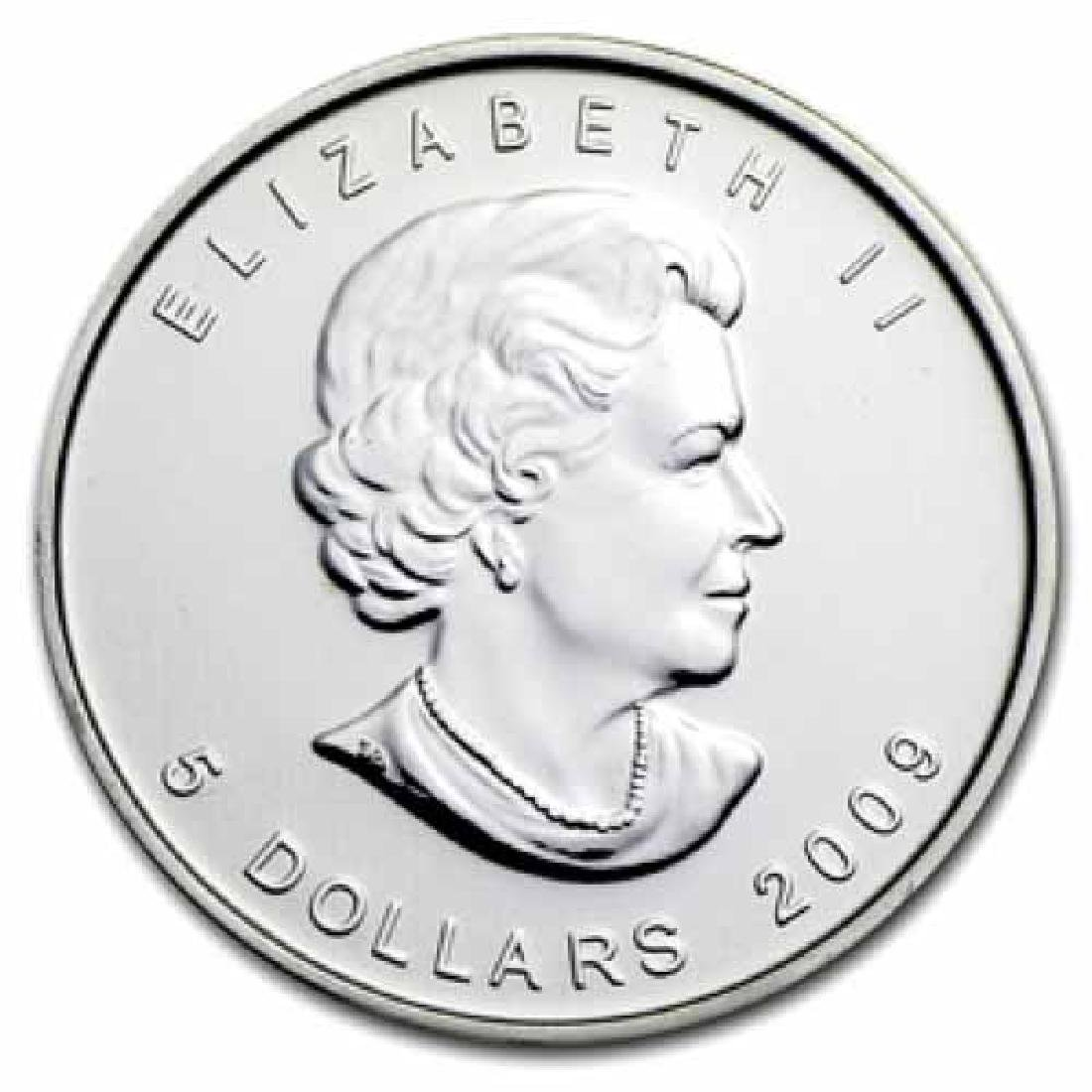 2009 Silver Maple Leaf 1 oz Uncirculated