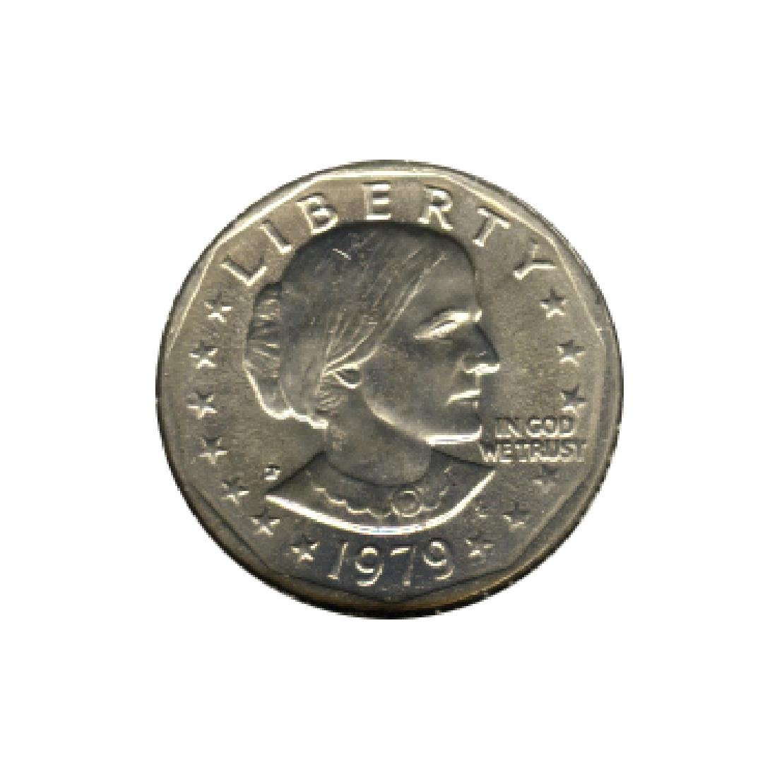 Susan B Anthony Dollar 1979-P BU