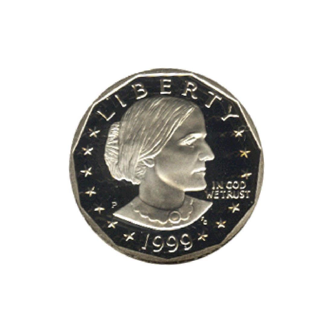 Susan B Anthony Dollar 1999-P Proof